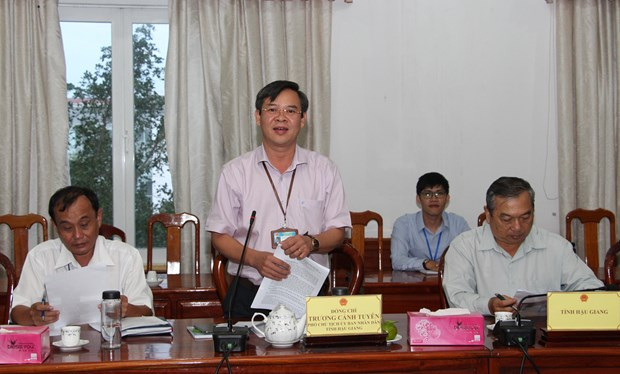 Hau Giang asked to work harder in luring NGOs' assistance hinh anh 1