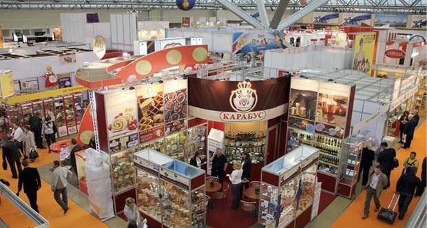 Vietnam promotes products at Moscow international food fair hinh anh 1