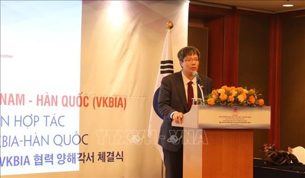Vietnam-Korea businessmen and investment association debuts hinh anh 1