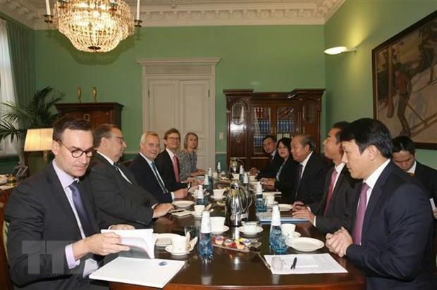 Deputy PM: Vietnam wishes to develop partnership with Finland hinh anh 1