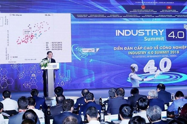 Vietnam Industry 4.0 Summit 2019 to run in early October hinh anh 1