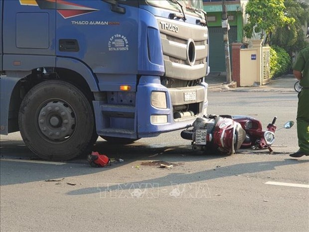 Traffic accidents claim 5,659 lives in nine months hinh anh 1