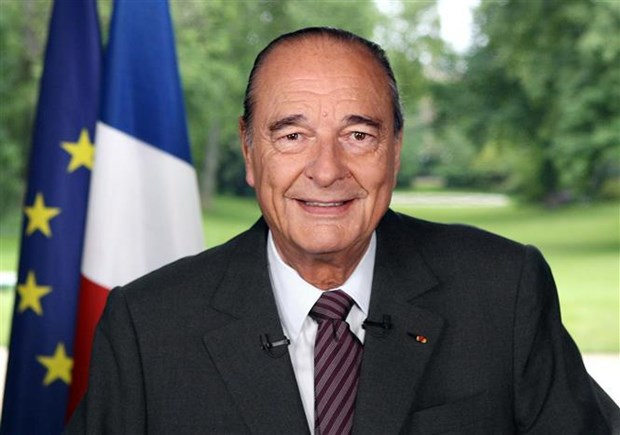Condolences over passing of ex-President of France hinh anh 1