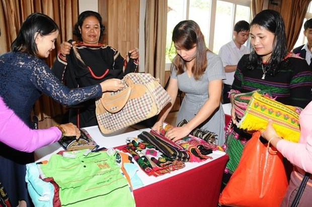 Dak Nong ethnic minority women assisted to approach new tech hinh anh 1