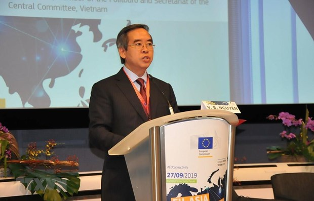 Vietnam supports EU's efforts to promote Europe-Asia connectivity hinh anh 1
