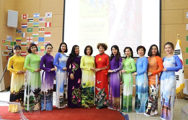 Vietnam's Ao Dai, culture promoted in South Africa hinh anh 1