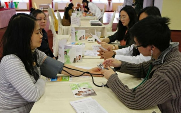Event promotes community health among Vietnamese expats in Czech Republic hinh anh 1