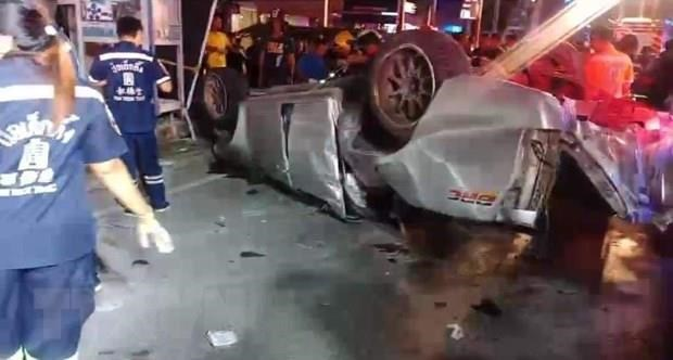 13 killed, 4 injured in pickup truck accident in Thailand hinh anh 1