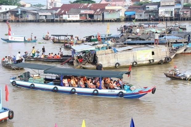 Can Tho serves over 7 million visitors in nine months hinh anh 1