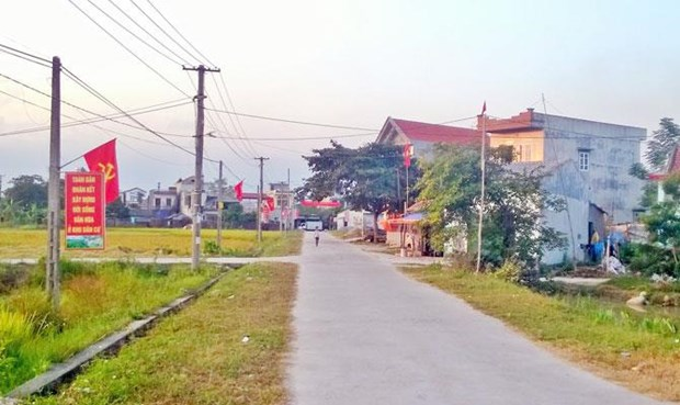 Vinh Phuc province to spend 7 trillion VND on new-style rural area building hinh anh 1
