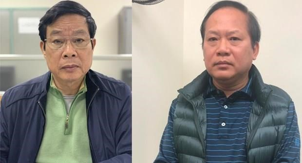 Two former senior officials proposed to be expelled from Party hinh anh 1
