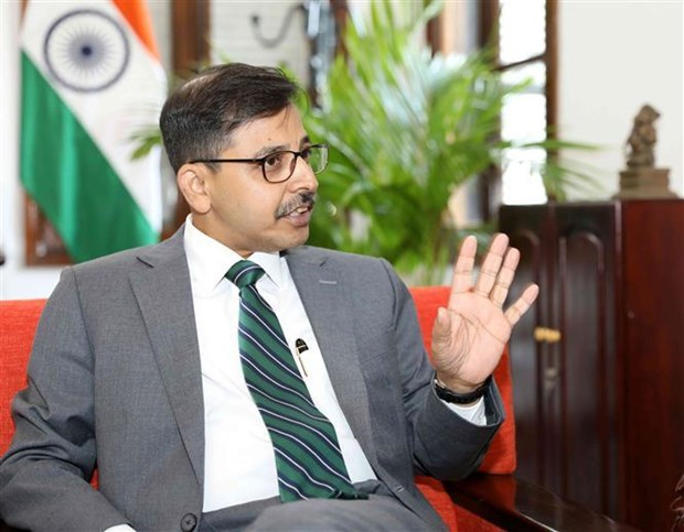 Vietnam-India ties to play increasingly important role in region, world: Ambassador hinh anh 1