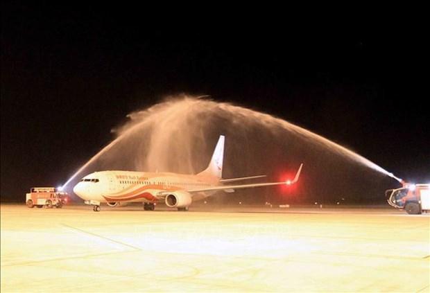 Hai Phong – Kunming air route launched hinh anh 1