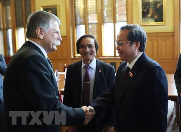 NA Vice Chairman Phung Quoc Hien visits Hungary hinh anh 2