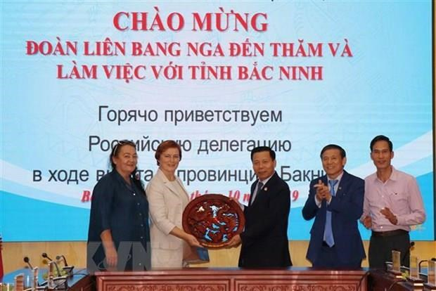 Bac Ninh pushes economic ties with Russia hinh anh 1