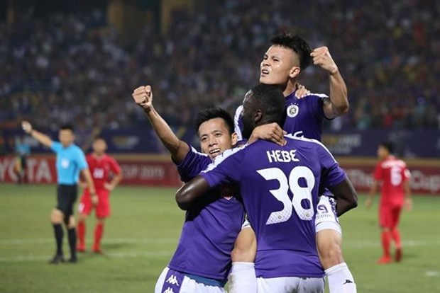 Hanoi FC gunning for AFC Cup Inter-zonal Final victory hinh anh 1
