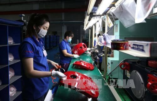 HCM City's industrial production index up 7.26 percent hinh anh 1