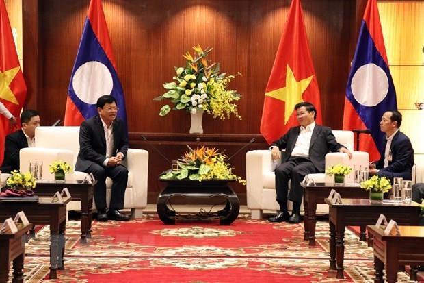 Lao Prime Minister visits Da Nang hinh anh 1