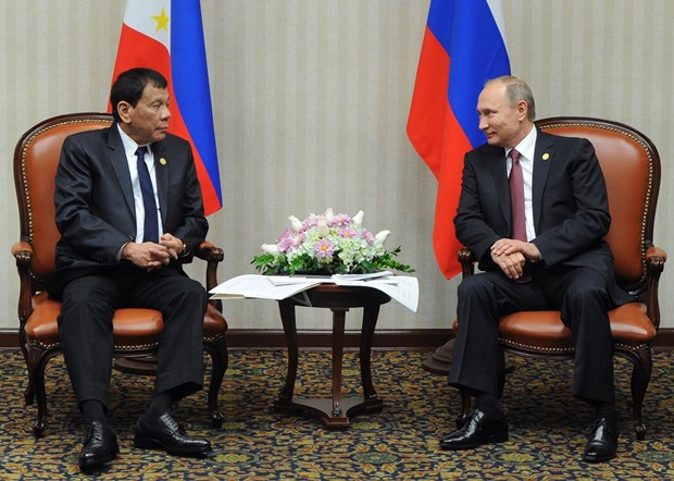 Philippine President visits Russia hinh anh 1