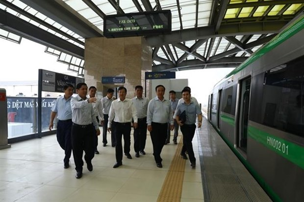 Cat Linh-Ha Dong railway must run this year: Deputy PM hinh anh 1
