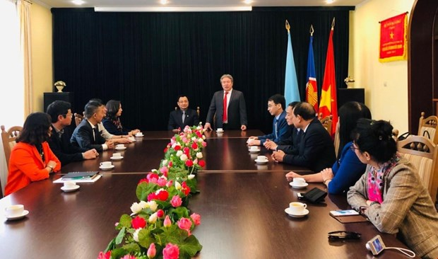 Vietnam's administration academy enhances cooperation with Ukrainian partners hinh anh 1