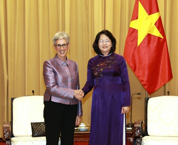 Vietnam values strategic partnership with Australia: Vice President hinh anh 1
