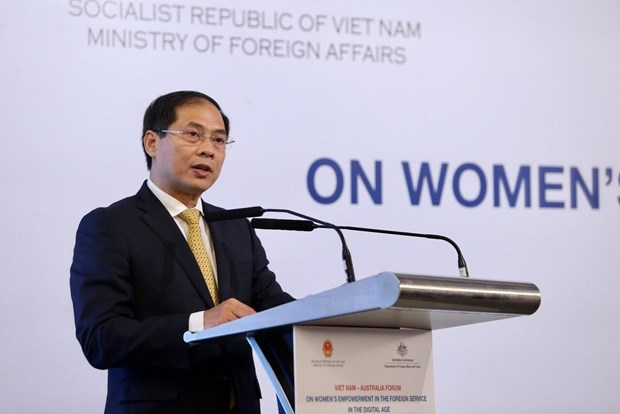 Joint statement of forum on women's empowerment in foreign service hinh anh 1
