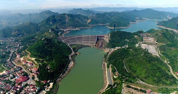 Hoa Binh hydropower plant to be expanded in Q2 of 2020 hinh anh 1