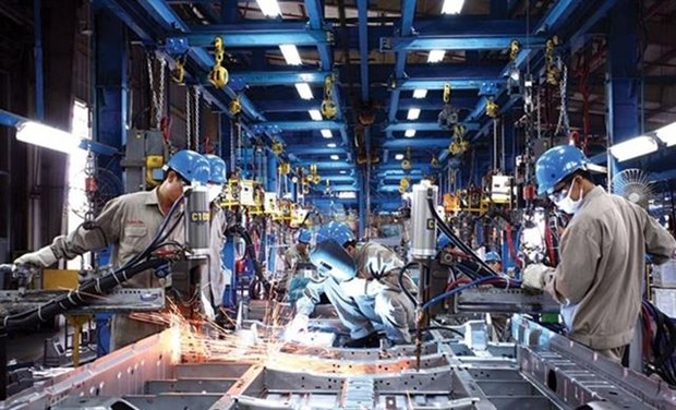 Vietnam's industrial production hits four-year high hinh anh 1