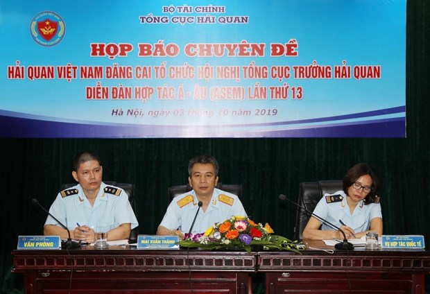 Vietnam to host ASEM customs directors-general meeting hinh anh 1