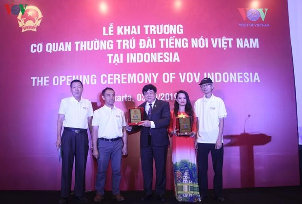VOV launches representative office in Indonesia hinh anh 1