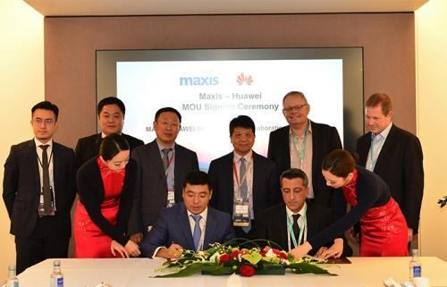 Maxis, Huawei ink agreement on 5G service supply in Malaysia hinh anh 1