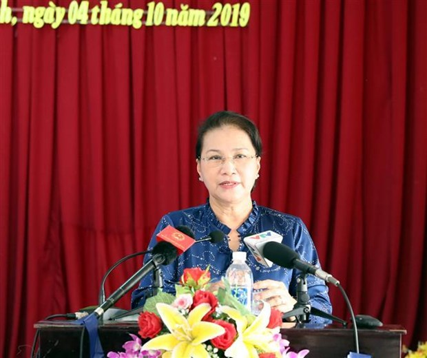 NA Chairwoman meets with Can Tho voters hinh anh 1