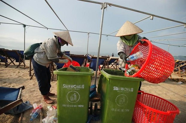 Norway-funded project to help turn ocean plastic into development chances hinh anh 1