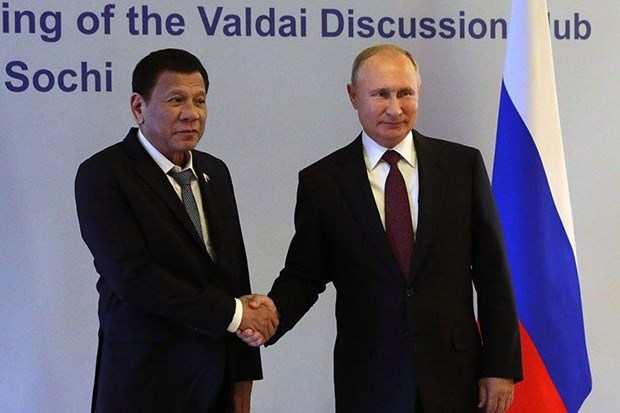 Philippines, Russia to expand bilateral cooperation hinh anh 1
