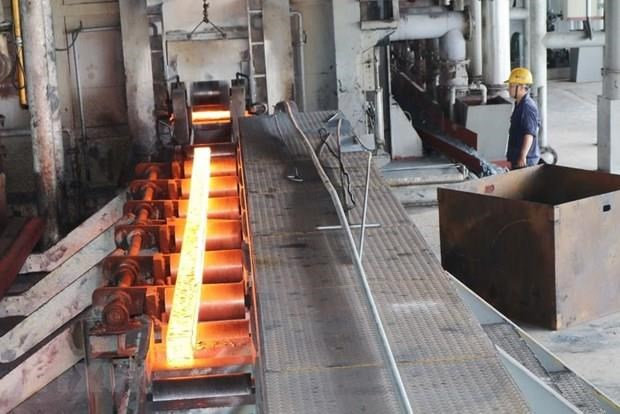 Leading steelmaker Hoa Phat posts 32-percent rise in steel export volume hinh anh 1