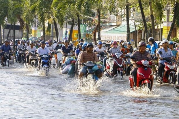 Urban areas in Mekong Delta face serious flooding hinh anh 1