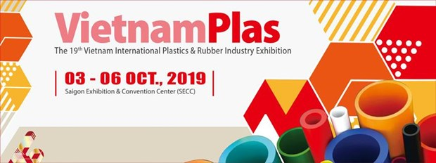 Plastic, rubber industry exhibition opens in HCM City hinh anh 1