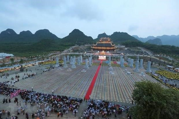 Ha Nam welcomes over 2 million tourists in nine months hinh anh 1