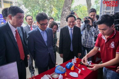 National start-up festival for students held in Hanoi hinh anh 1
