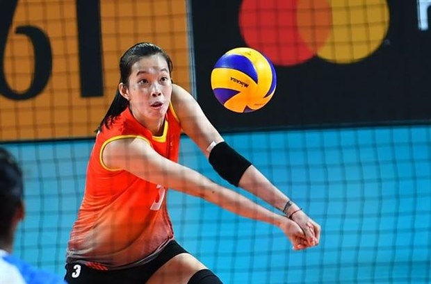 Vietnamese girl to play for Japan volleyball club hinh anh 1