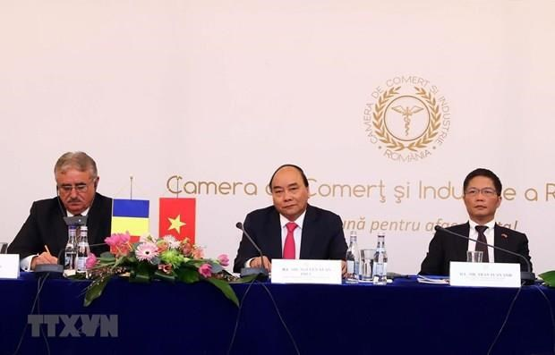 Vietnam-Romania joint committee holds first ministerial-level session hinh anh 1