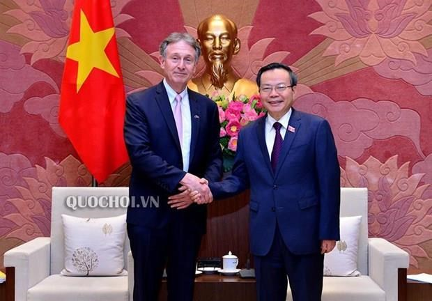 NA Vice Chairman receives EU business official hinh anh 1