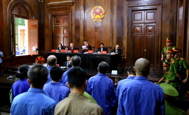 HCM City court hands eight death, one life sentences to drug traffickers hinh anh 1