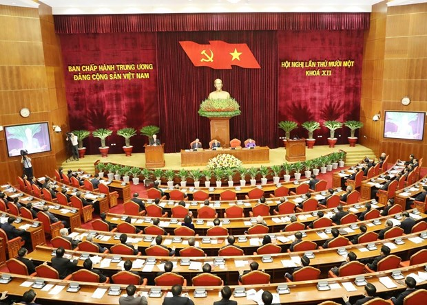 Party Central Committee convenes 11th plenum hinh anh 1