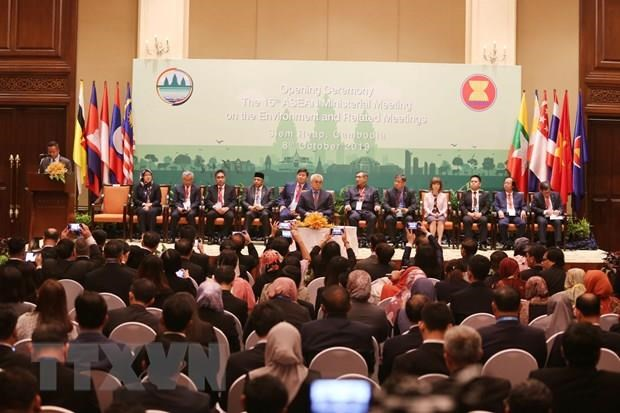 15th ASEAN ministerial meeting on environment opens in Cambodia hinh anh 1