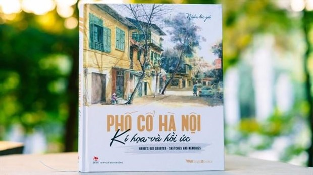 Bilingual sketch book on Hanoi published hinh anh 1