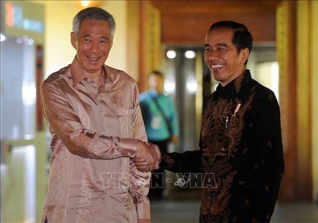 Indonesian President visits Singapore hinh anh 1