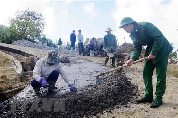 Quang Tri mobilises over 65.6 trillion VND for rural area building hinh anh 1