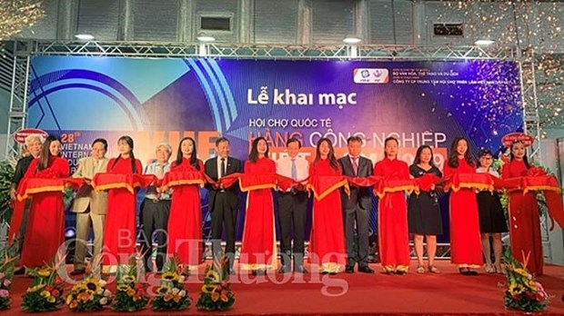Vietnam int'l industrial fair opens in Hanoi hinh anh 1